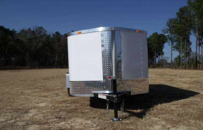 Extreme Low Profile 5x10 Cargo Trailer 625 American