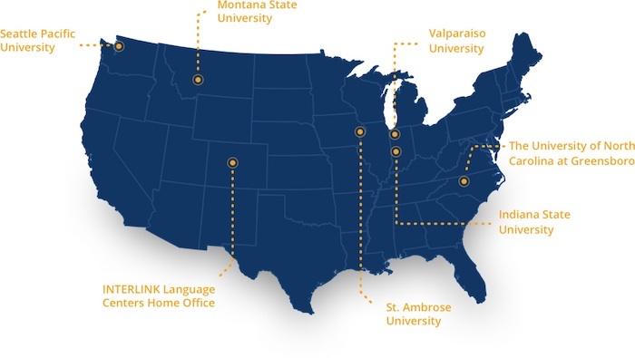 Saint Ambrose University Map