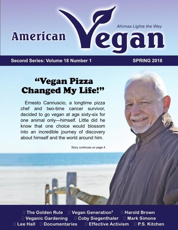 American Vegan Spring 2018 Cover Photo