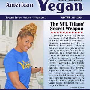 American Vegan Winter 2018/2019 Cover Photo