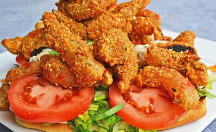 Titans Fuel: Chef Charity Morgan's Shrimp Po-Boys