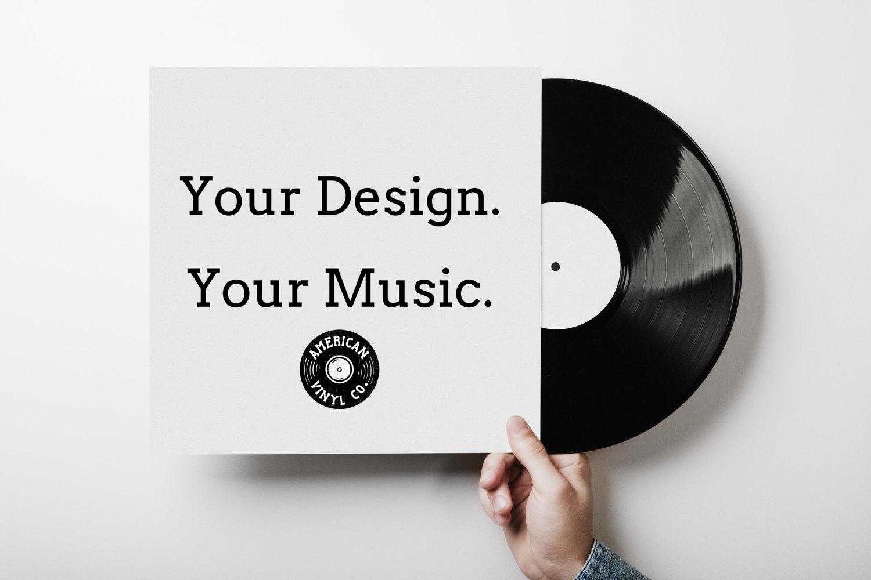 12 custom vinyl record