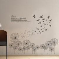 Dandelion Wall Decal - talentneeds.com