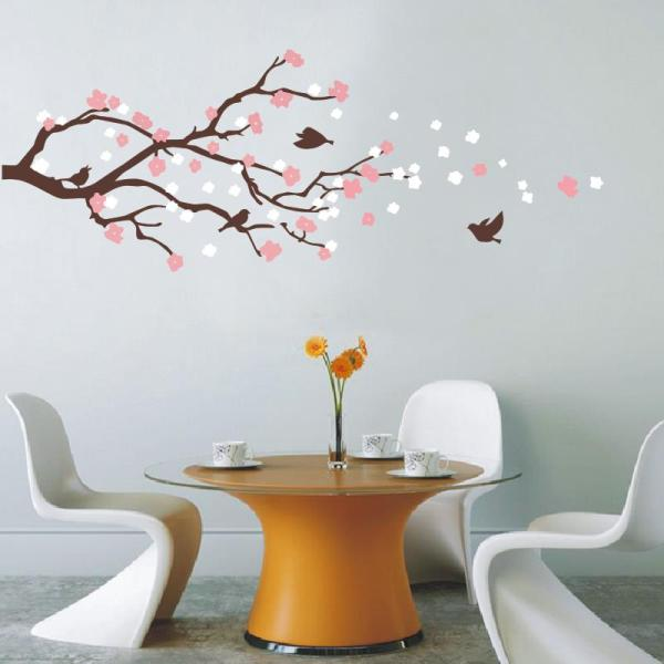 Cherry Blossom Tree Wall Mural