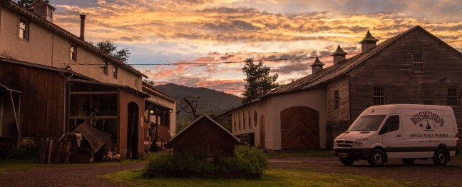 Copper Fox Distillery in Sperryville, VA