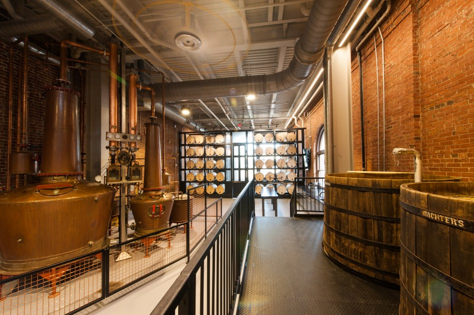 Michter's Fort Nelson Distillery Pot Still System & Cypress Wood Fermenters