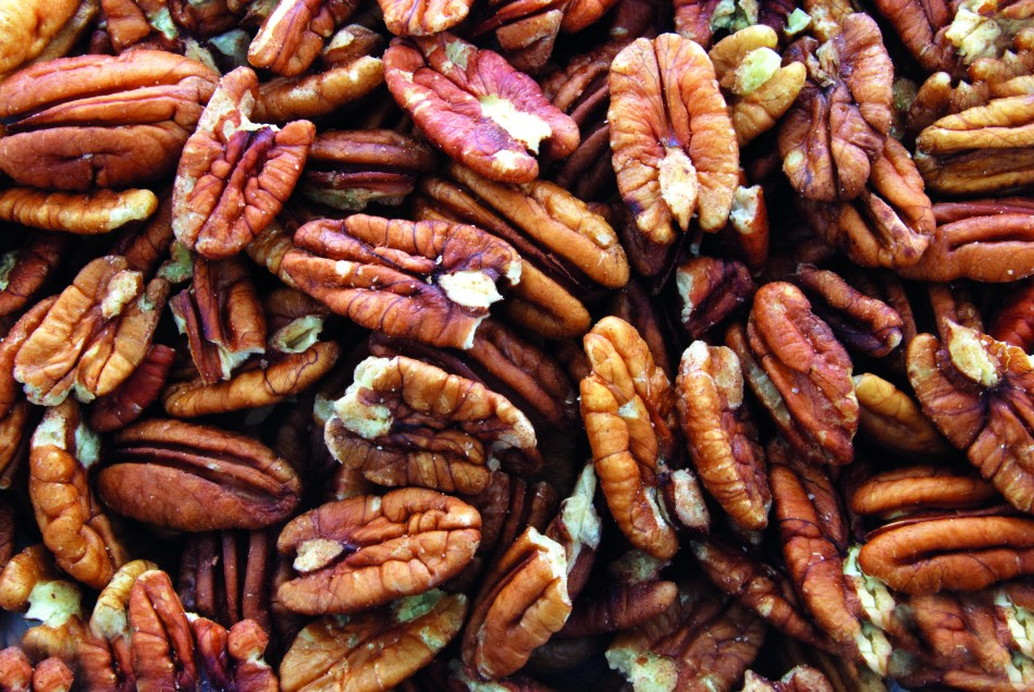 pile of pecans