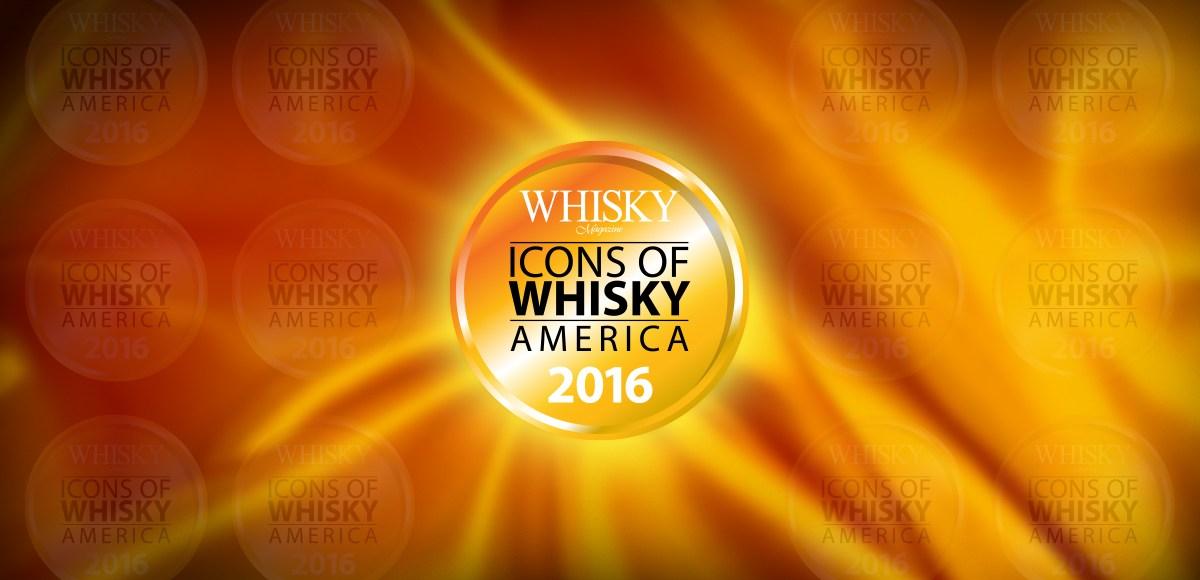 Icons of Whisky America 2016 logo header