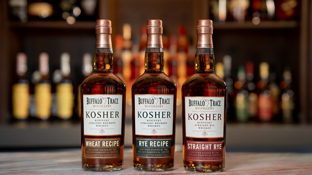 Buffalo Trace Kosher Whiskey Trio