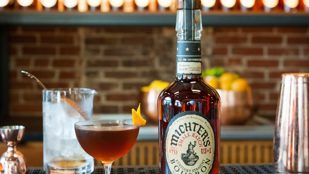 Friday cocktail Michter's Manhattan