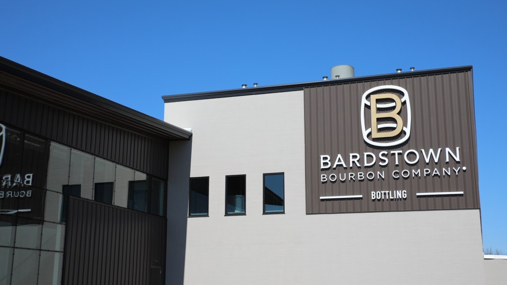 Bardstown Bourbon bottling facility