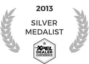 Tyler O'Hara XPEL Dealer Conference Silver Medalist 2013