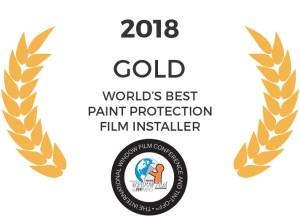 Tyler O'Hara World's Best Paint Protection Film Installer Gold Medalist 2018