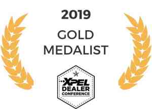 Tyler O'Hara XPEL Dealer Conference Gold Medalist 2019
