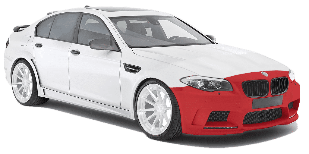 Paint Protection Film coverage level 1