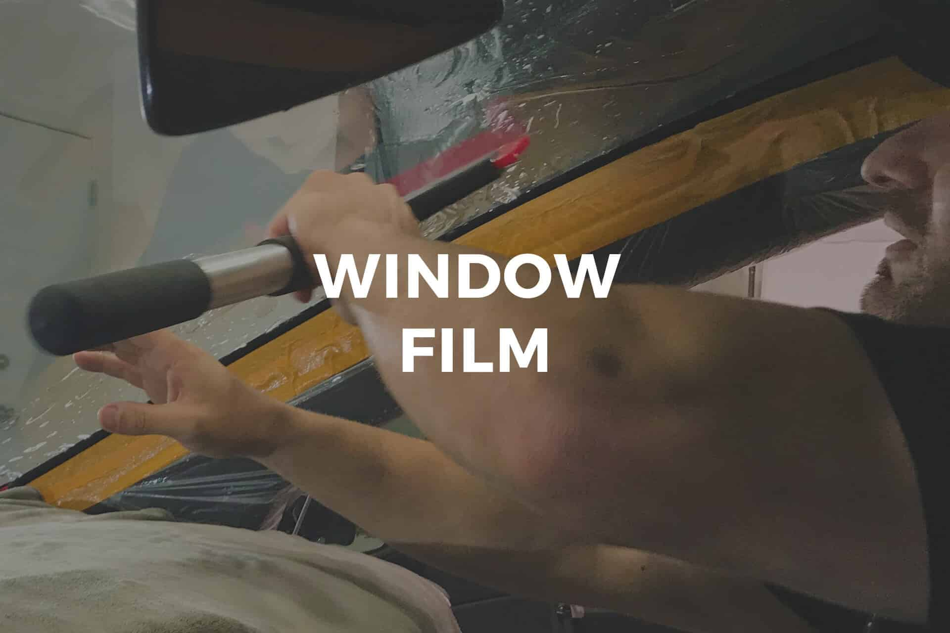 American Wrap Co. Window Film Services
