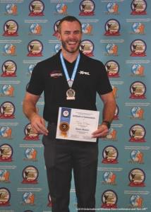 Tyler O'Hara, 3rd Place in the International Window Film Tint-OffTM – Paint Protection Film Division