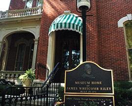 James Whitcomb Riley Museum Home exterior