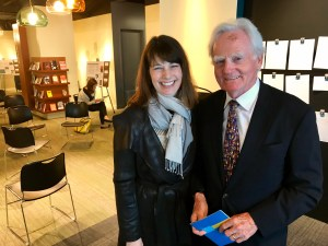 Angie Klink and Malcolm O'Hagan at the AWM