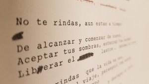 Typewritten text