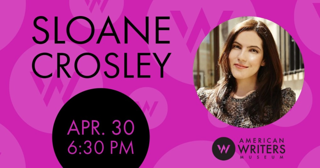 Sloane Crosley at the American Writers Museum on April 30.