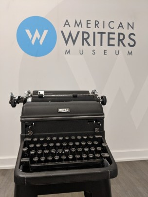 Ray Bradbury's typewriter will be on display at the American Writers Museum beginning June 22