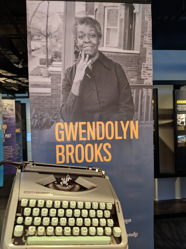 Gwendolyn Brooks typewriter featured at the American Writers Museum