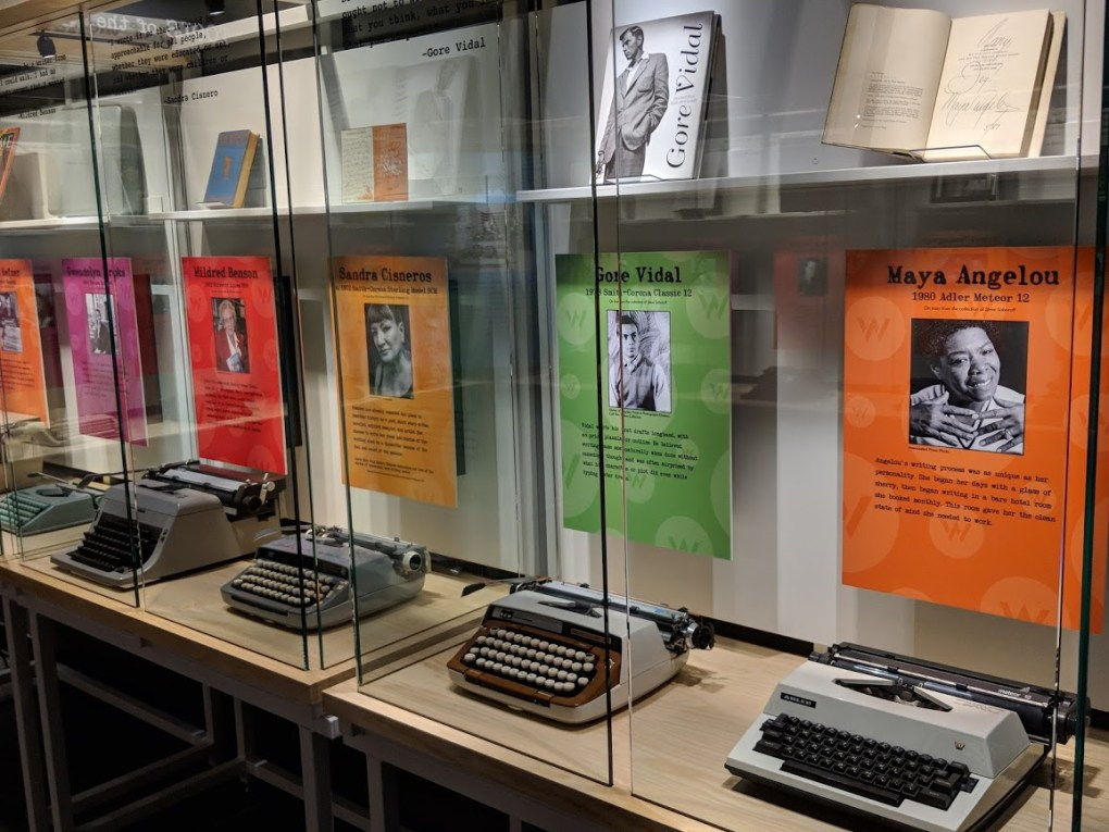 New exhibit on writing practice through the ages, Tools of the Trade now open at the American Writers Museum