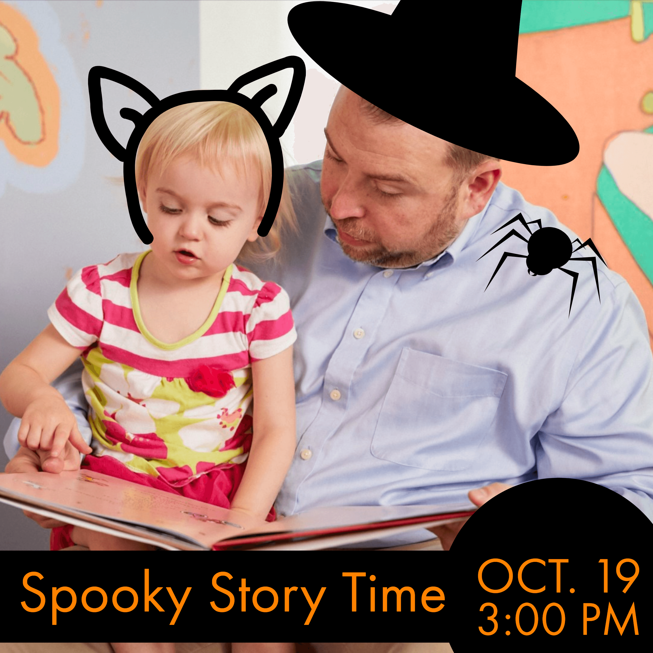 Special spooky edition of Storytime at the American Writers Museum on October 19 at 3:00 pm