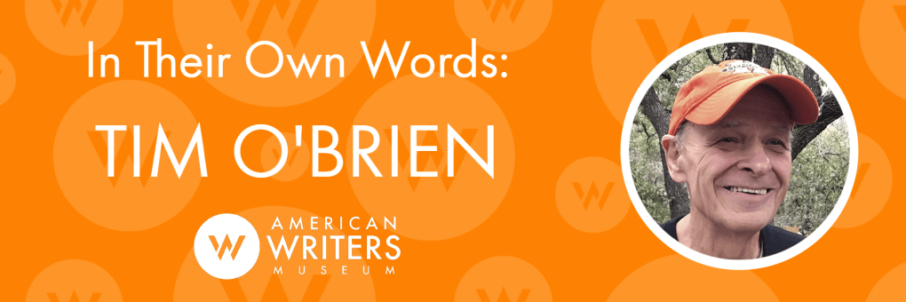 American Writers Museum Q&A with Tim O'Brien