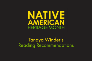 Native American Heritage Month reading recommendations