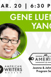 Gene Luen Yang reading and signing at the American Writers Museum