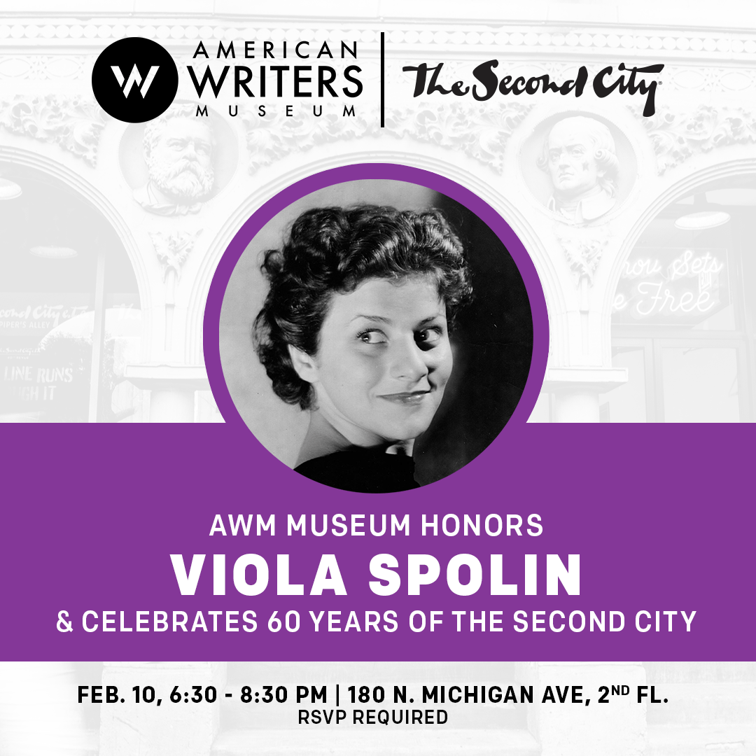The AWM and Second City Honors Viola Spolin