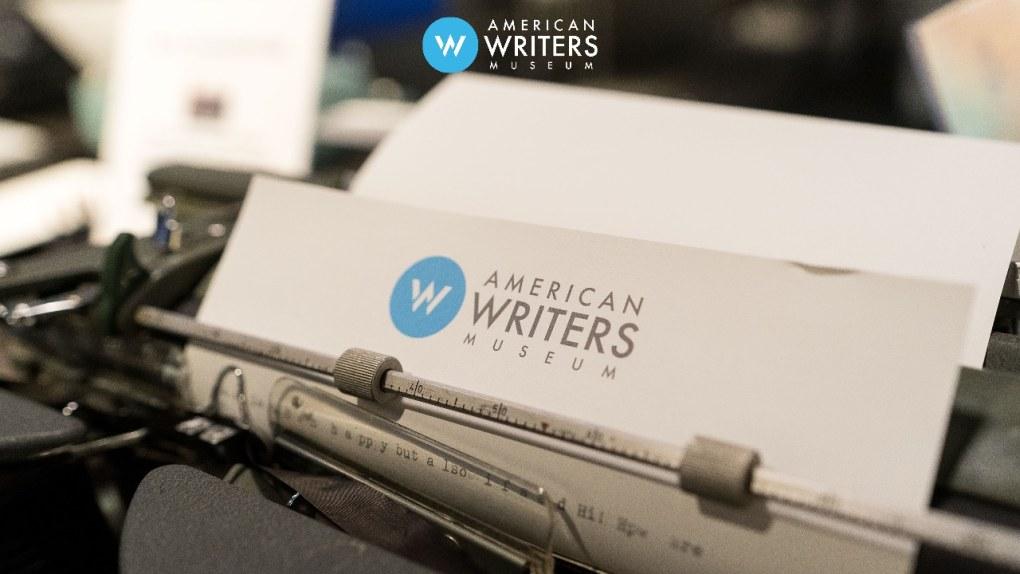 AWM typewriter zoom background