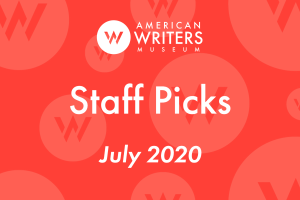 Reading recommendations from the staff at the American Writers Museum. Find out what we've been reading and see if any of your favorites are on the list!