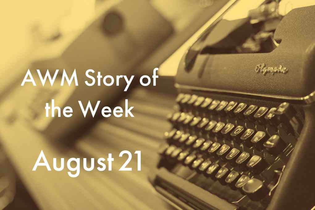 American Writers Museum Story of the Week for August 21, 2020