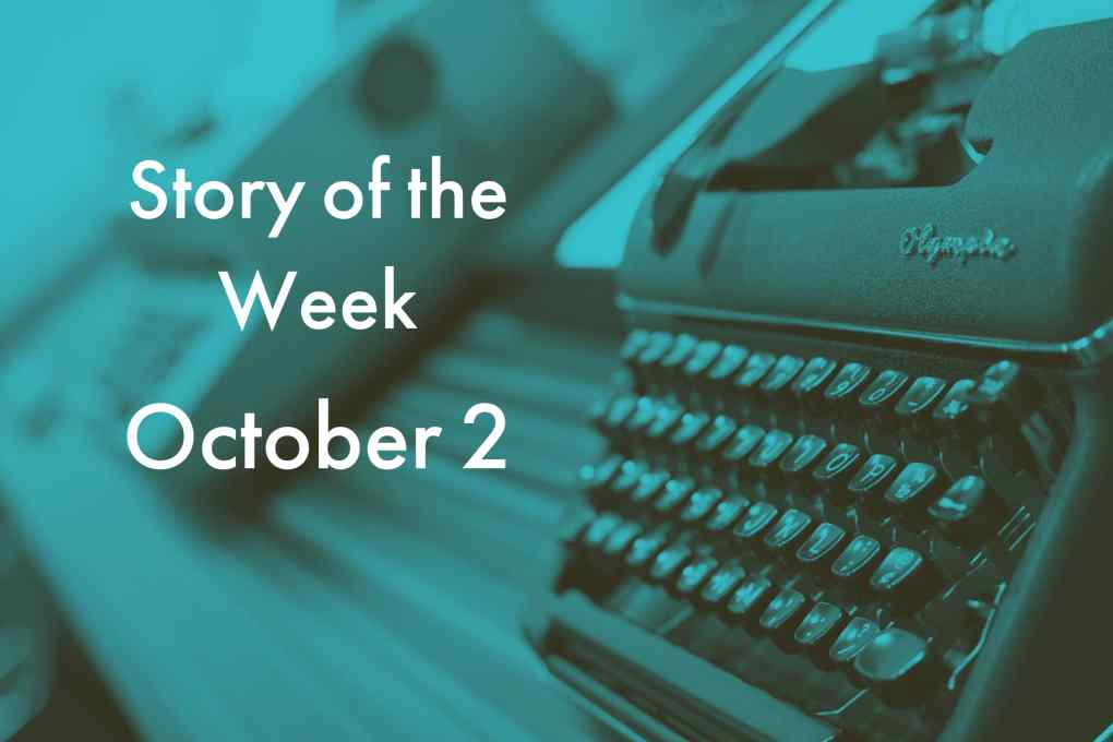 American Writers Museum Story of the Week for October 2, 2020