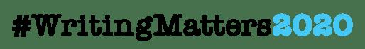 #WritingMatters2020