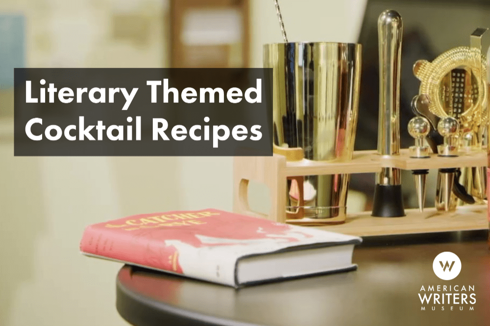 Learn how to make four literary inspired cocktails!
