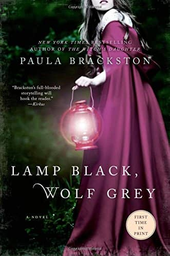 Lamp Black, Wolf Grey by Paula Brackston book cover