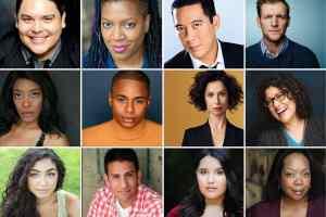 Headshots of the cast of Wally World