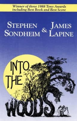 Into the Woods by Stephen Sondheim and James Lapine book cover