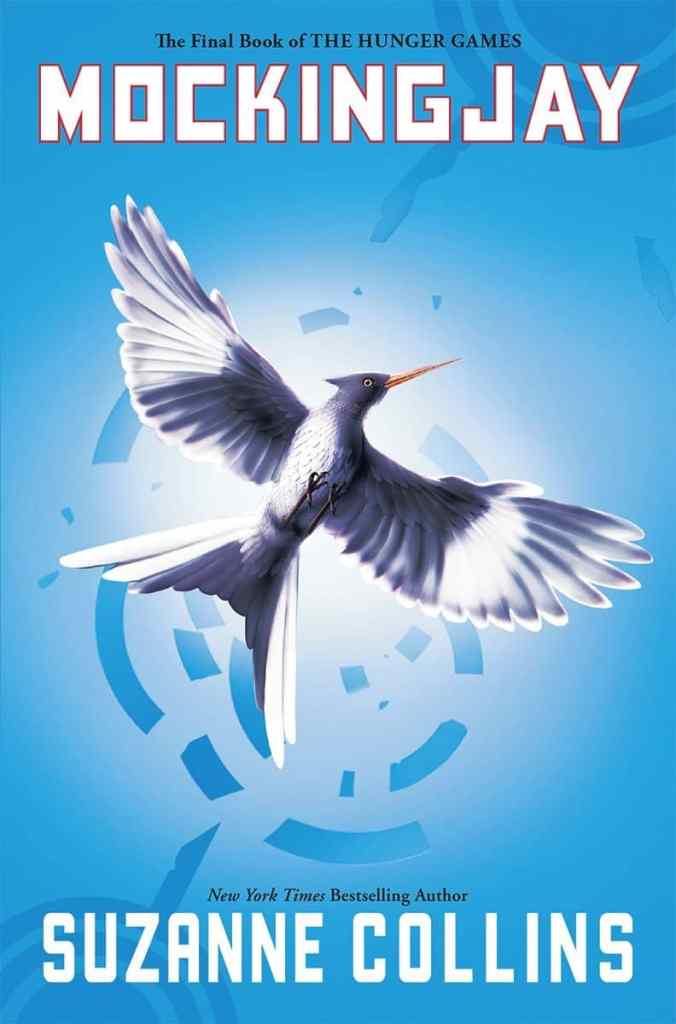 Mockingjay by Suzanne Collins book cover