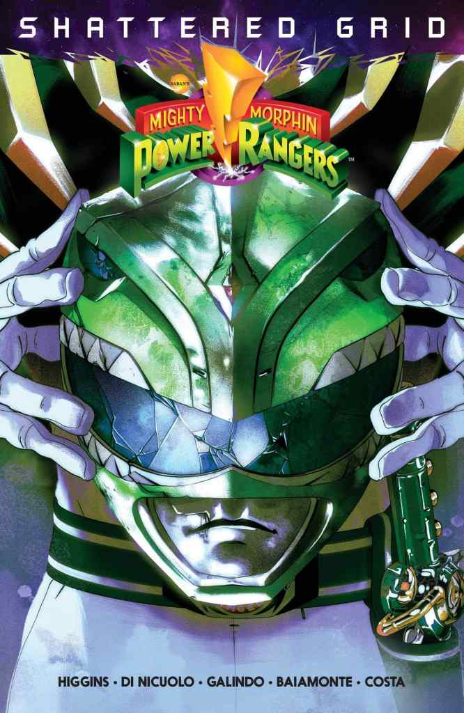 Mighty Morphin' Power Rangers: Shattered Grid by Kyle Higgins and Ryan Parrott, illustrated by Daniele di Nicuolo and Diego Galindo
