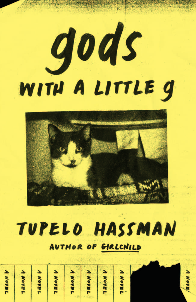 gods with a little g by Tupelo Hassman book cover