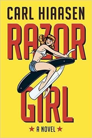 Razor Girl by Carl Hiaasen book cover