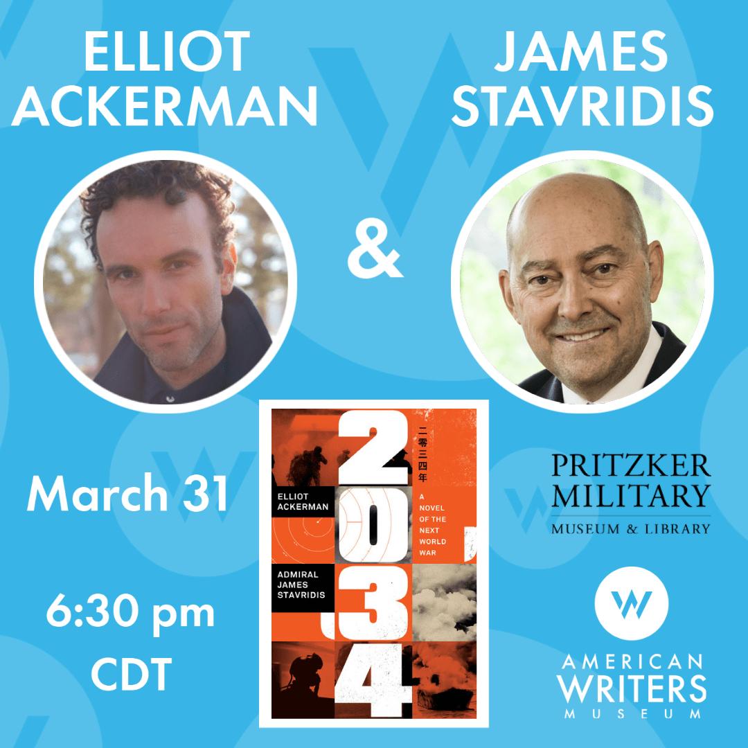 Elliot Ackerman & Admiral James Stavridis | AWM Author Talks