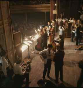 The Grand Ole Opry at the Ryman Auditorium Nashville in 1960