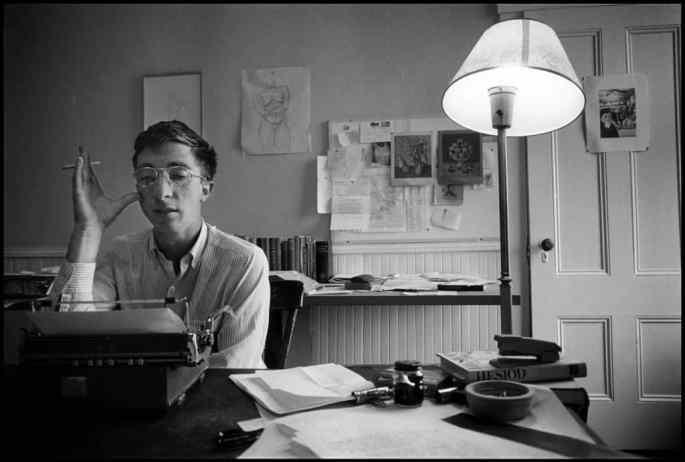 Photo of John Updike in 1962. (Dennis Stock/Magnum Photos)