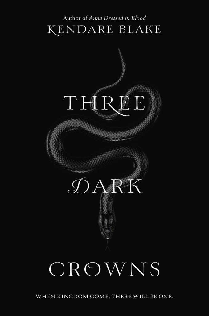 Three Dark Crowns by Kendare Blake book cover